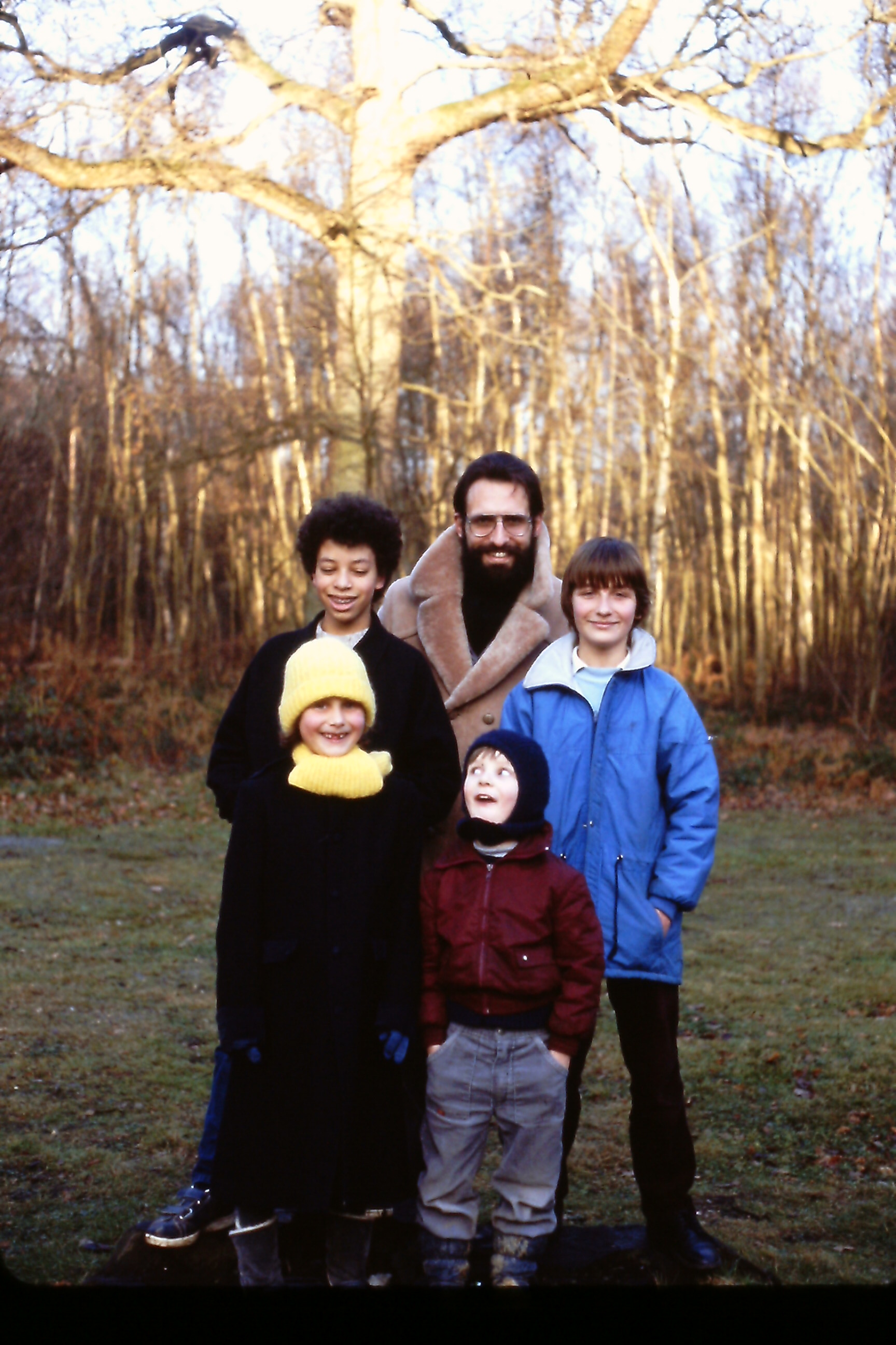 Jan Krotki_Family_z dziecmi w kanadyjskim lesie